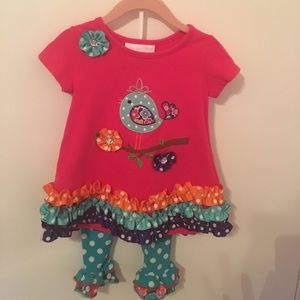 Bonnie Baby 2 piece matching set.